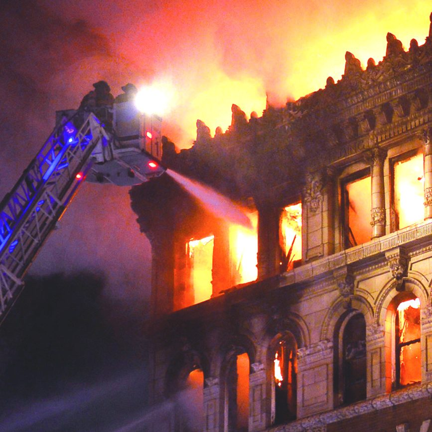 Public documents related to the Jay Street fire have been taken out of circulation as part of the criminal investigation.