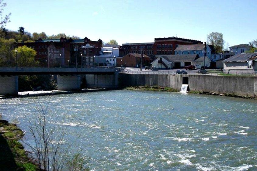 Hoosick Falls in May 2011.