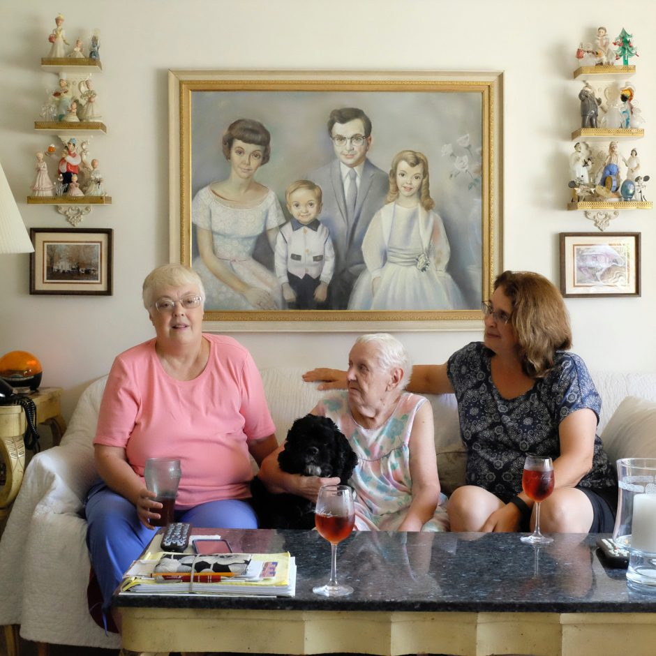 """""""E, L and D,"""" a portrait by Robert Durlak, reminds us of women in our family or neighborhood."""