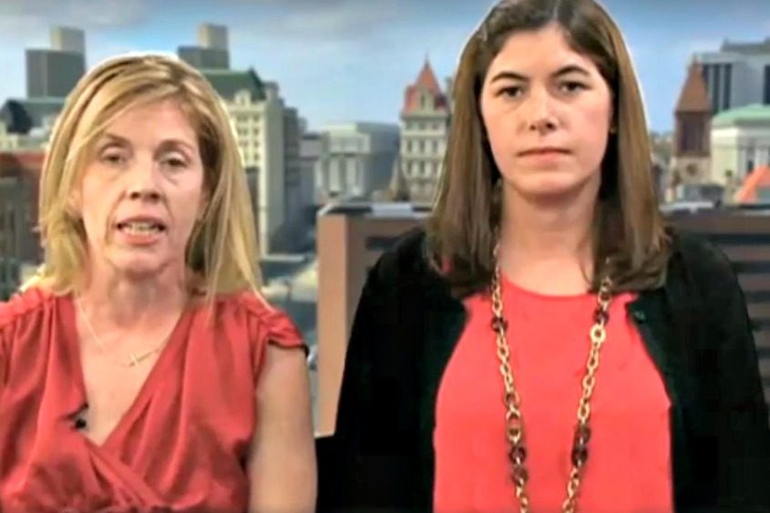 "Two Saratoga Springs parents representing a local group called ""Conservative Chicks"" appeared on ""Fox & Friends."""