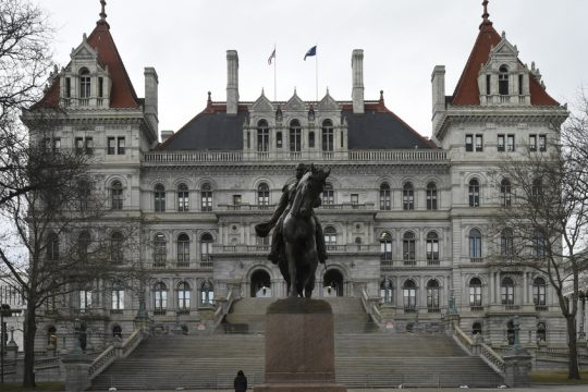 State Capitol Building in Albany.
