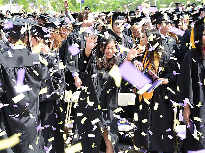 The 171st University at Albany commencement on May 17, 2015.