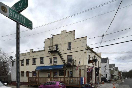 The Saw Mill Tavern at South Avenue and North Jay Street in Schenectady.