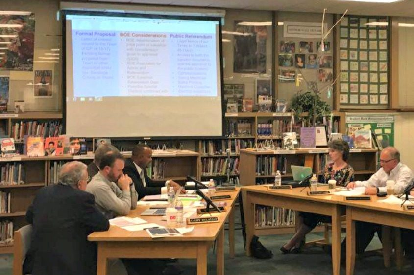 At its Tuesday night meeting, the Shenendehowa Board of Education discussed the options available.
