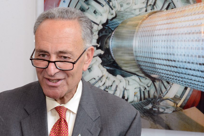 """Charles Schumer: """"This increase preserves the Erie Canal Heritage Area's ability to receive critical annual federal funding."""""""