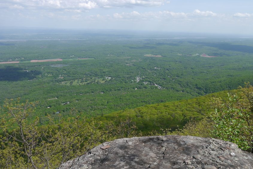 The relatively easy hike to Boulder Rock pays off big time with expansive views across the Hudson River valley.