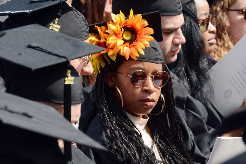 Union College held its 223rd commencement Sunday, June 11, 2017, at the Schaffer Library plaza.