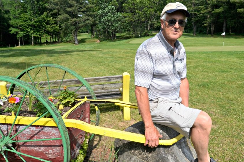 Kirk Armstrong, co-owner of Whispering Pines Golf Course, poses on the Rotterdam property June 13, 2017.
