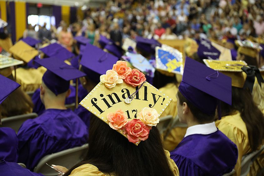 The Amsterdam High School class of 2017's commencement ceremony took place at the school's gymnasium Saturday morning.