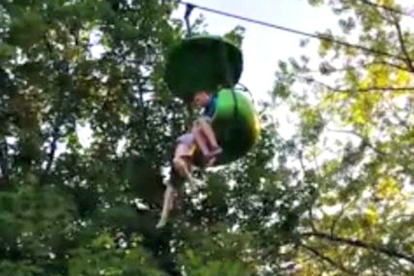 Screenshot of video.
