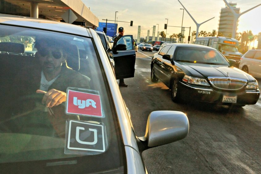 A driver for Uber and Lyft in Los Angeles.