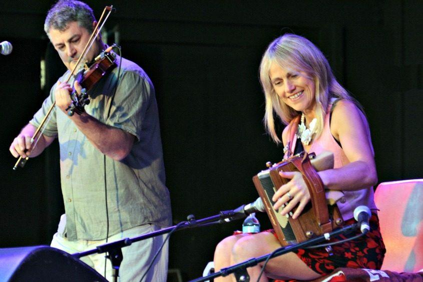 Irish accordionist Sharon Shannon performs at the Music Haven season opener Sunday.