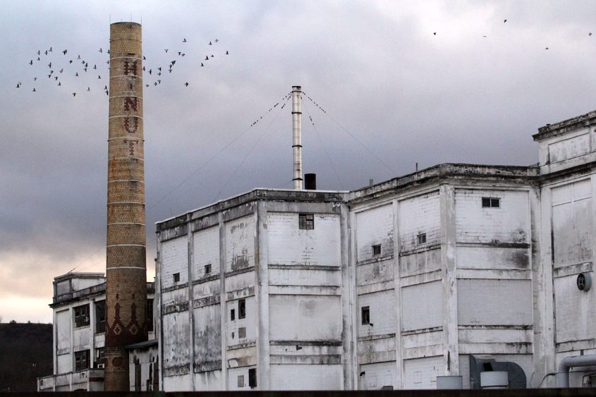 The former Beech-Nut plant in Canajoharie in December 2013.