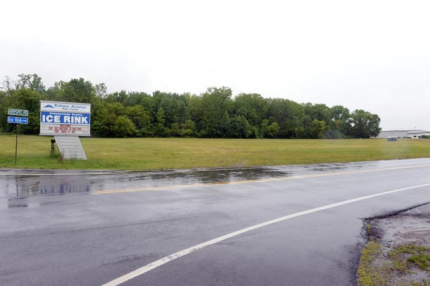 Schenectady County Airport in Glenville.