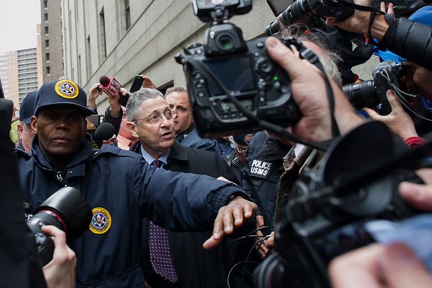 Sheldon Silver, the former speaker of the state Assembly, in May 2016 after he was sentenced to 12 years in prison.