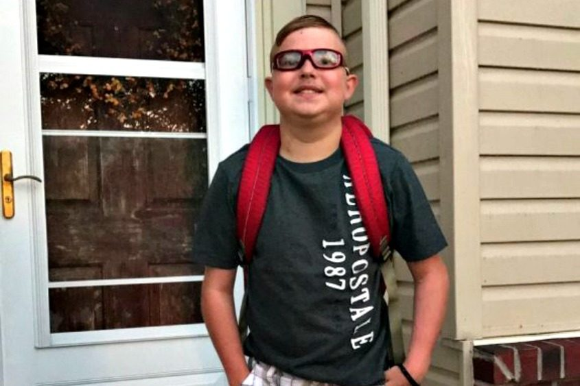 Peyton West, 13, died Thursday.