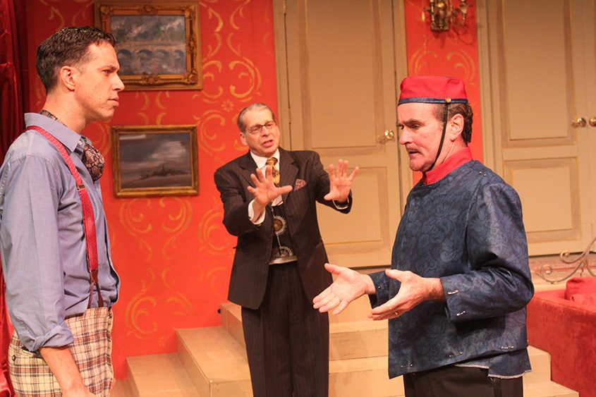 """A scene from """"A Comedy of Tenors."""""""
