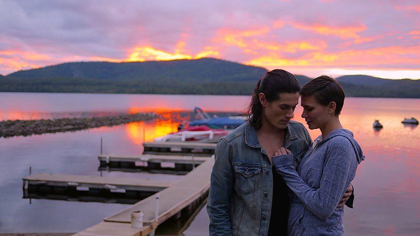 "Stacey (Sarah Joy Byington) and Nick (Lorenzo Rodriguez) in ""The Night We Met."""