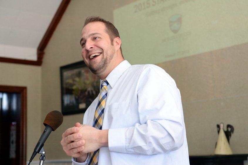 Montgomery County Executive Matthew Ossenfort in 2015.