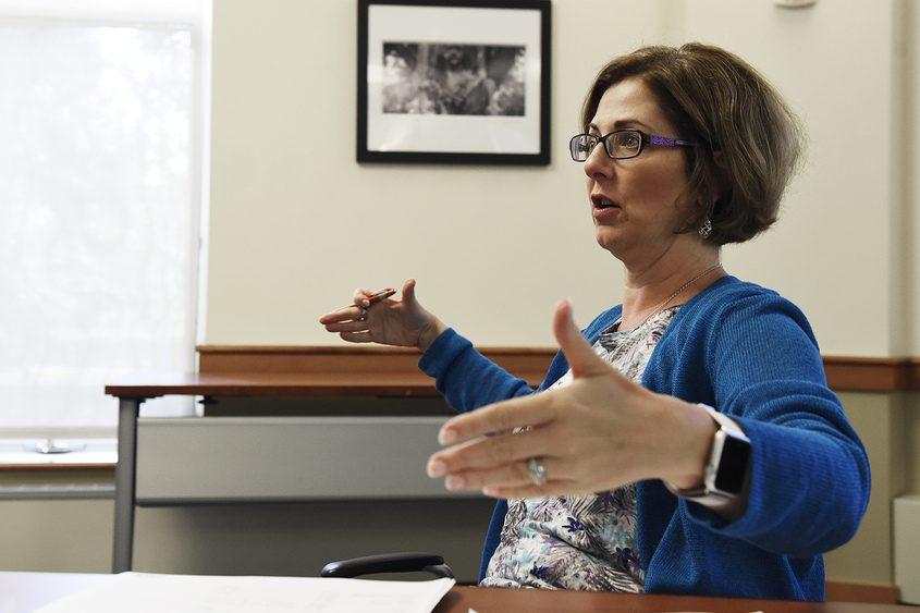 Saratoga Springs Finance Commissioner Michele Madigan.