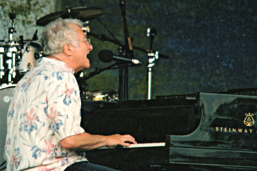 Randy Newman performs during the 2008 Jazz Fest at SPAC.