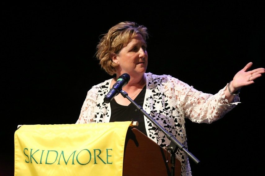 Skidmore College athletics director Gail Cummings-Danson will be honored for her college lacrosse career.