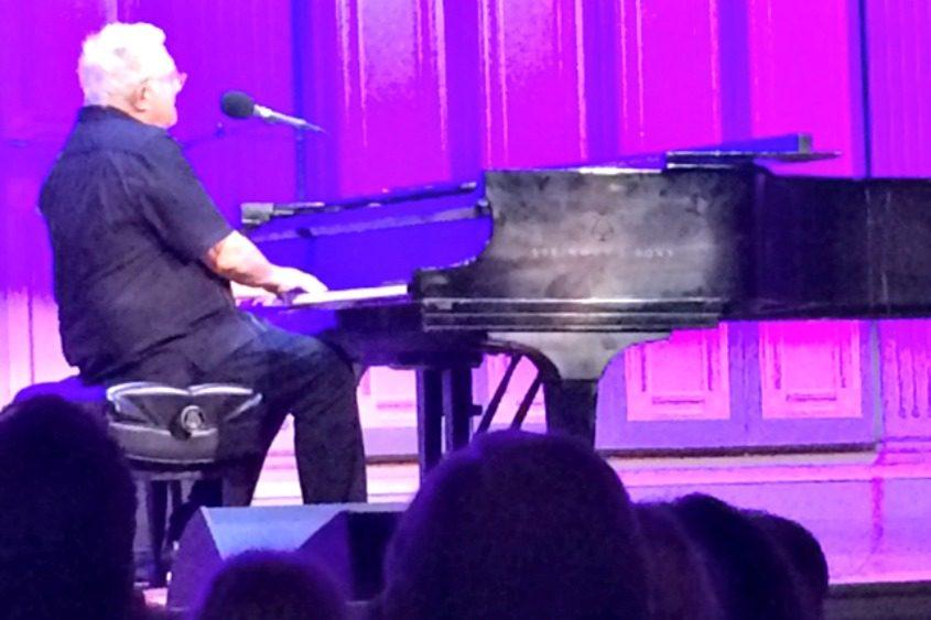 Randy Newman at the Troy Savings Bank Music Hall on Saturday.