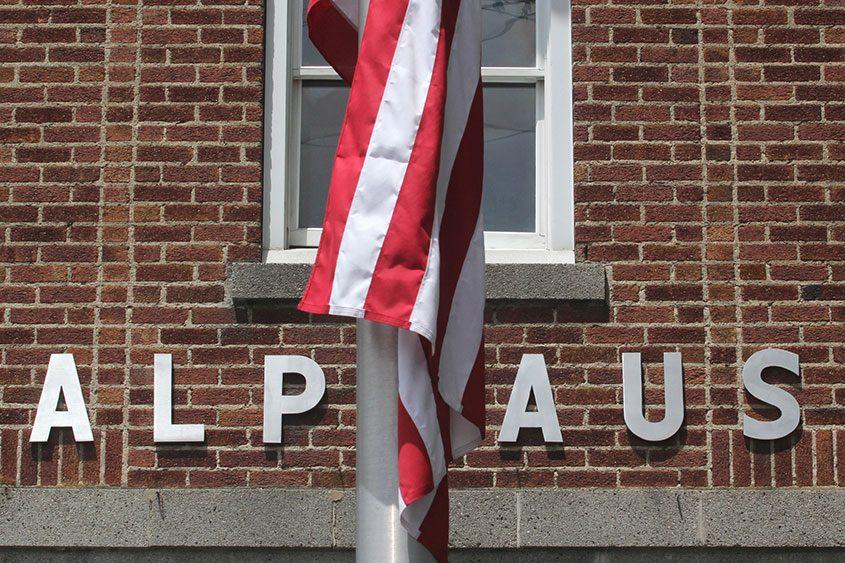 The village firehouse on Alplaus Avenue in Alplaus on Wednesday, July 3, 2013