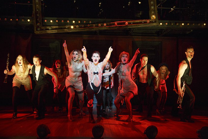 """A scene from """"Cabaret,"""" at SLOCC through Oct. 1"""