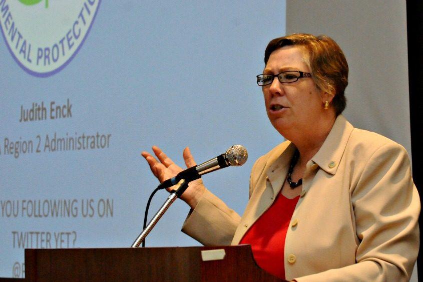 Judith Enck, who served under President Barack Obama, in October 2015.