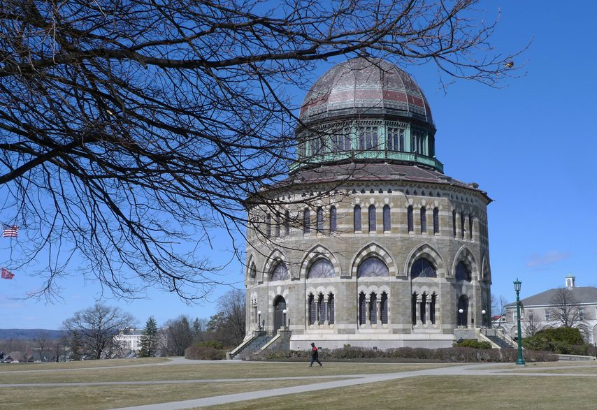 The Nott Memorial on the Union College campus.