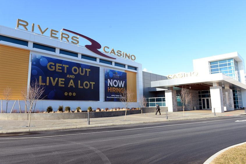 The county is expecting to receive about $2 million in new revenue from the Rivers Casino & Resort.