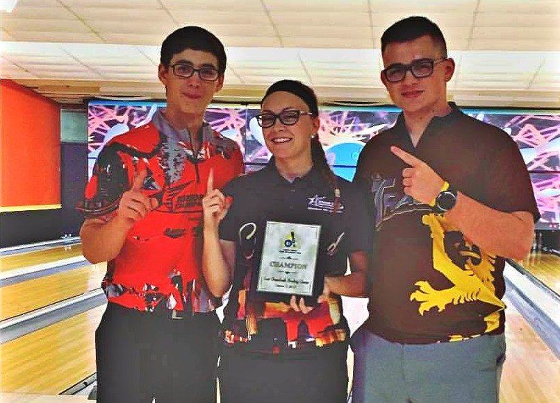 Lauren May Piotrowski, center, won her first CDYST tournament last week.