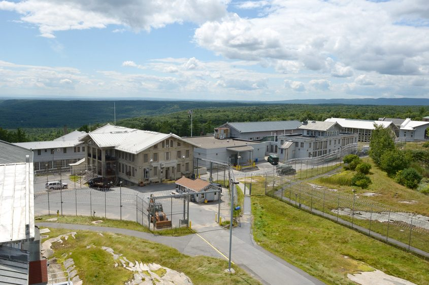 The former Mount McGregor prison in Wilton as seen in August 2014.