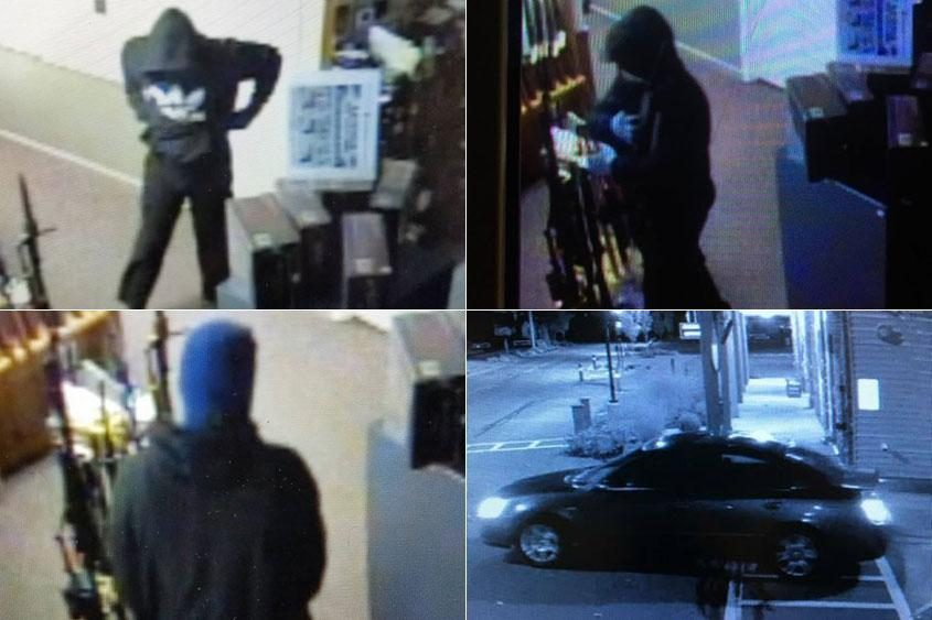 Police have located the vehicle and are questioning several persons of interest.
