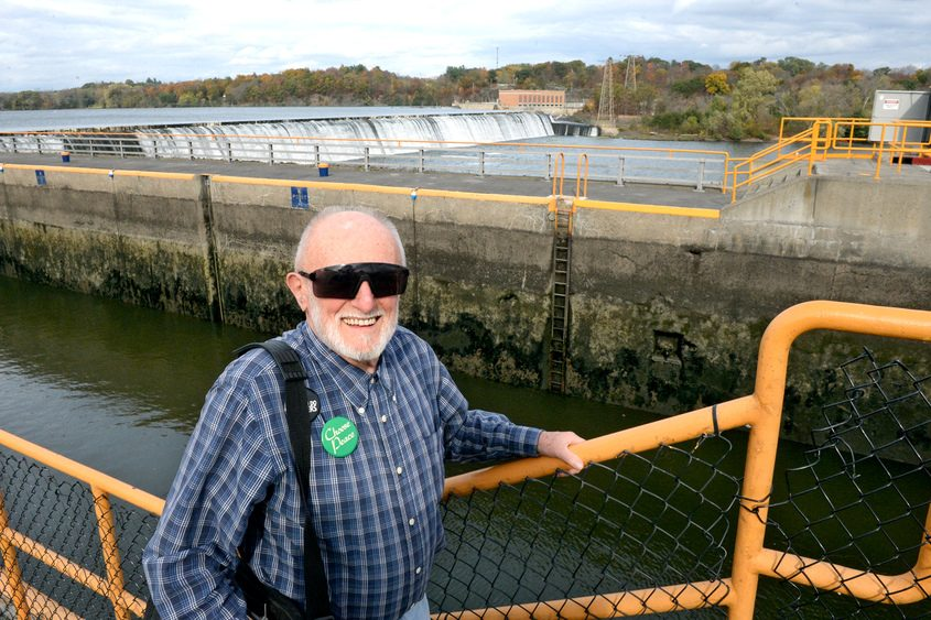 Scotia resident James Duggan has been researching the Lock 7 dam for years.
