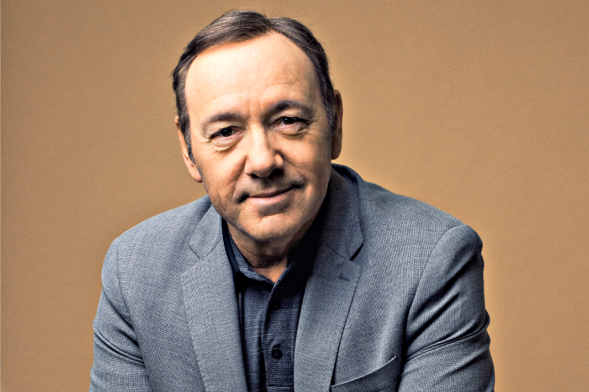 Kevin Spacey at the Juilliard School in New York on May 29, 2017.