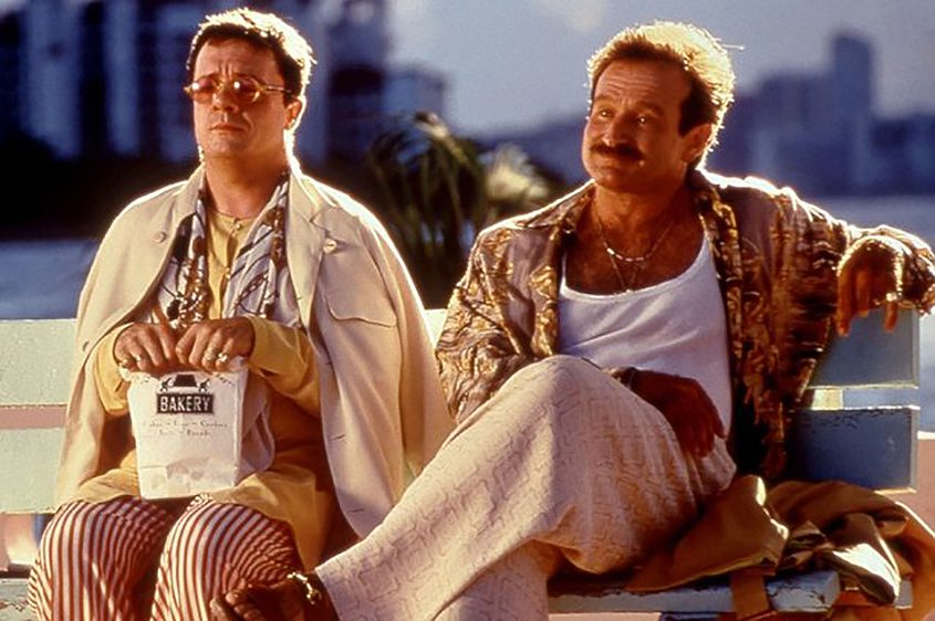 """Nathan Lane (left) and Robin Williams in the film """"Birdcage."""""""