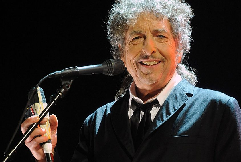 Bob Dylan, shown in 2012 at the 17th annual Critics' Choice Movie Awards in Hollywood.
