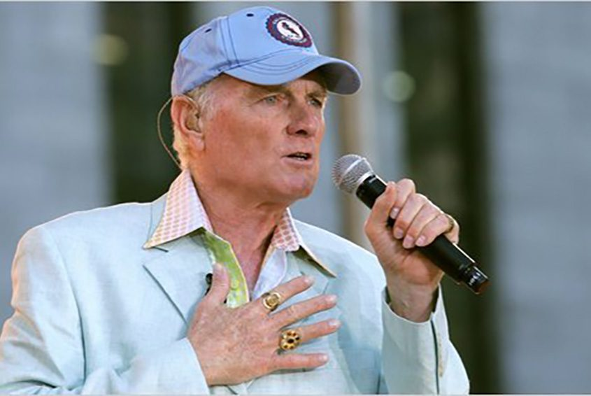 Mike Love is seen in a file photo.