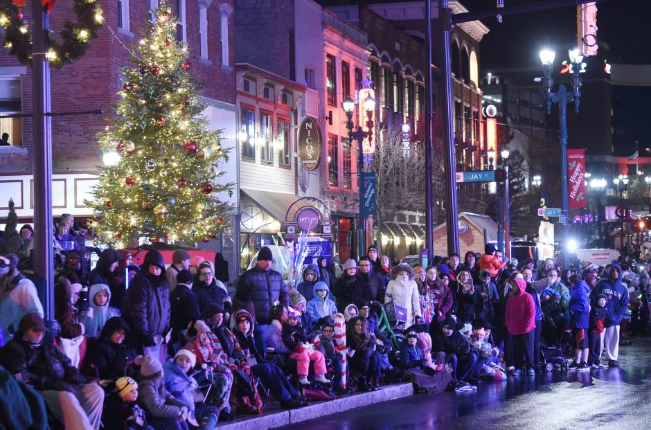 The Daily Gazette Holiday Parade made its way through downtown Schenectady on Saturday.