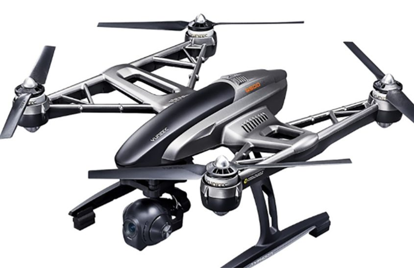 The Yuneec Typhoon 4K Quadcopter is among the drones available at stores such as Best Buy and Kohl's.