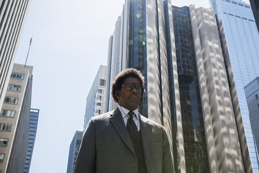 "Denzel Washington in ""Roman J. Israel, Esq."""
