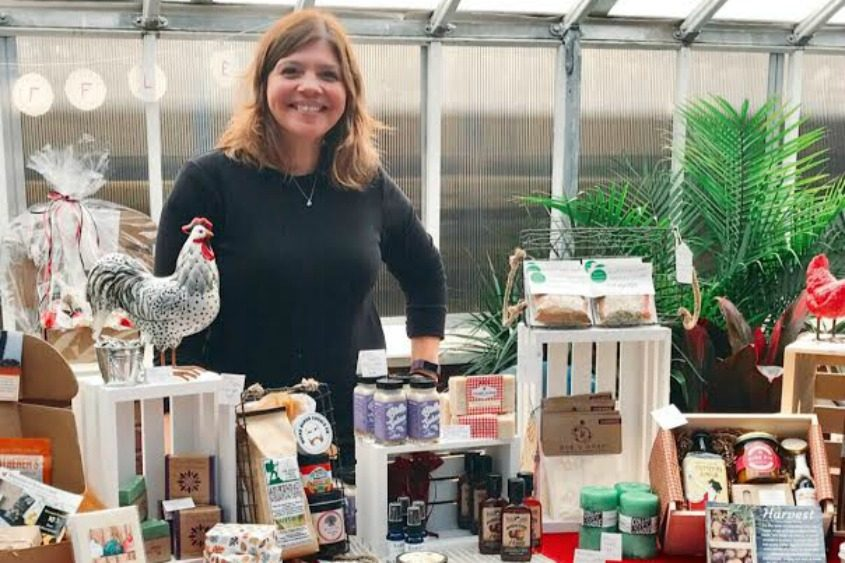 Kelly Pugliano, owner of Roost Crate.