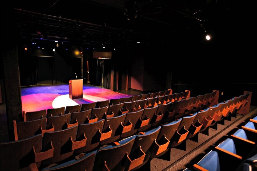A new black box theater is one of the main elements in The Addy.