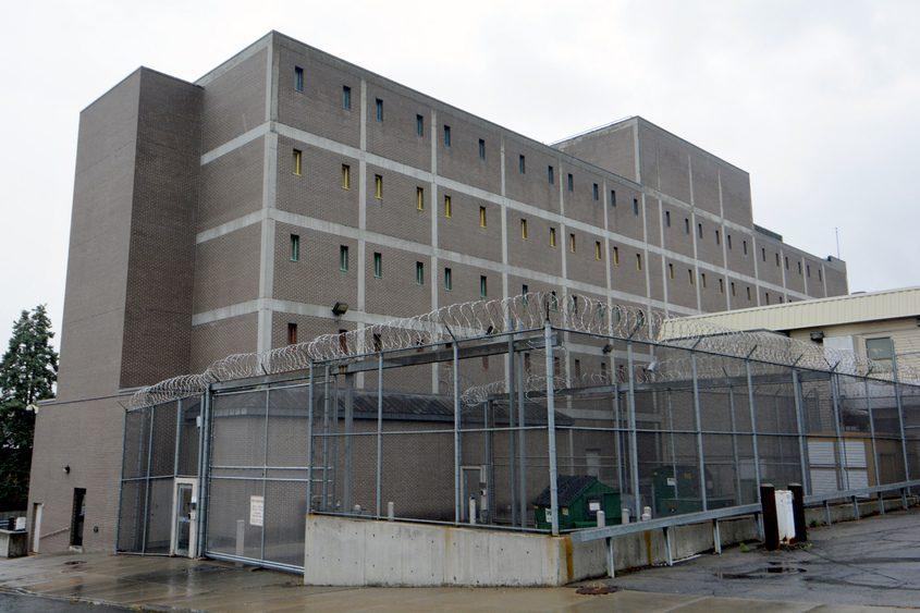 The Schenectady County jail on Veeder Avenue.