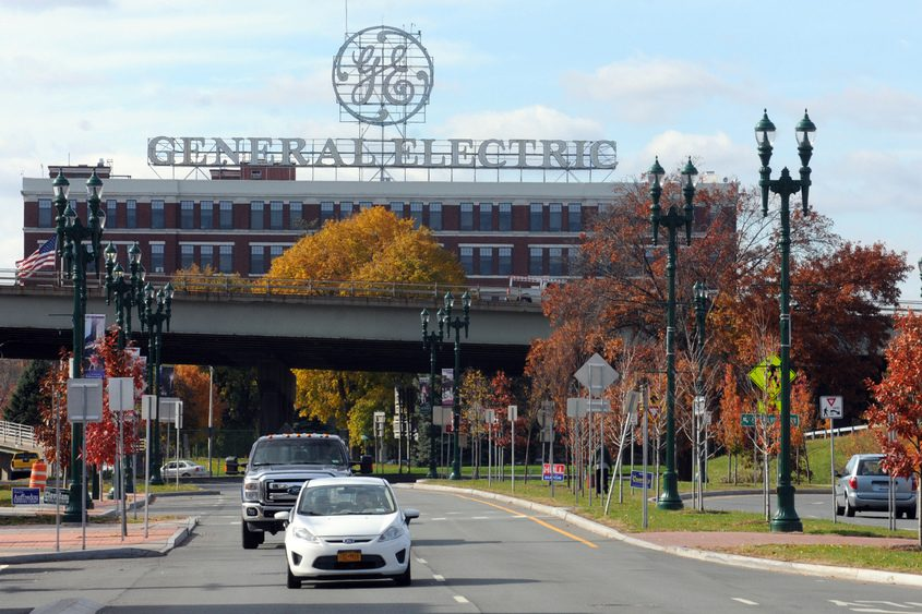 General Electric's main plant in Schenectady.