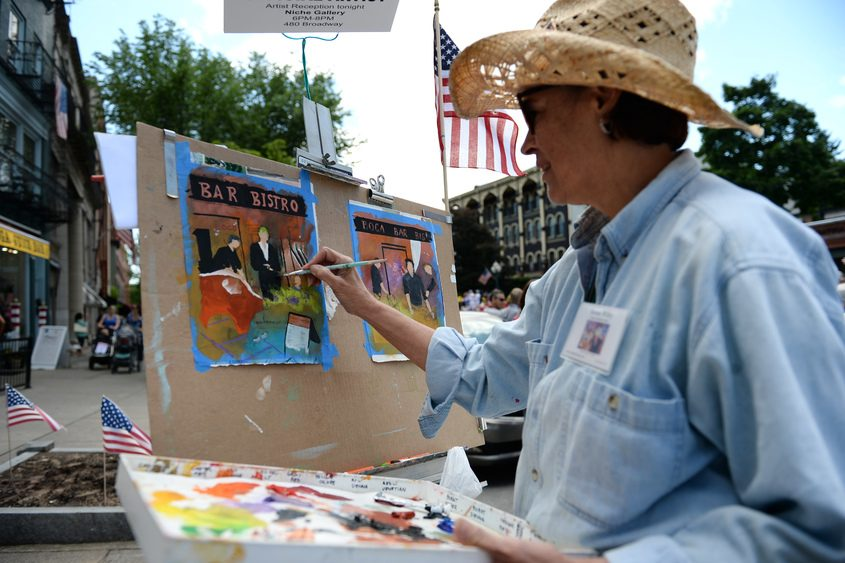 The Saratoga Arts Fest was among the grant winners last year.