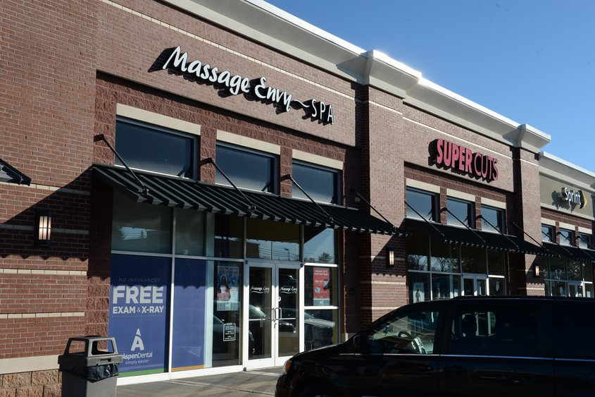 Massage Envy, at 410A Balltown Road in Mohawk Commons, is one of 1,170 franchise locations for the company.