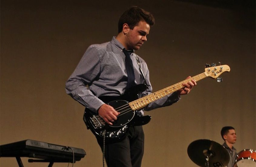Trevor Luciani performs at last year's fundraiser.